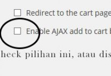 add to cart ajax