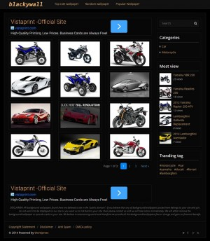 Blackywall fast load dan high CTR wallpaper wordpress theme