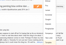 Edit blogspot