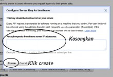 google api key baru create