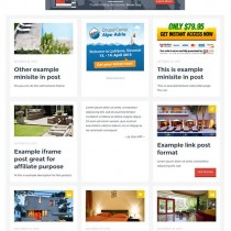 Ktzminisite blogging, affiliate atau list building wp theme