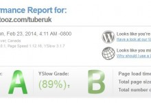 pagespeed tuberuk